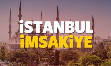 2018 İstanbul imsakiye sahur ve iftar vakti! Sabah ve Akşam ezanı saati