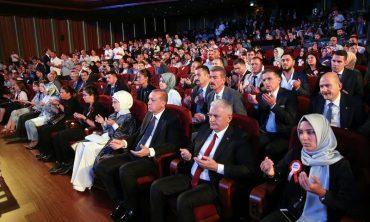 Beştepe'de '15 Temmuz Şehitleri Anma Programı' düzenlendi