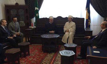 Diyanet İşleri Başkanı Görmez, Bosna Hersek'te Reis'ül Ulema Kavazoviç ile bayramlaştı
