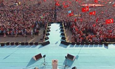 Milyonlarca el, şehitler ve gaziler için duaya kalktı