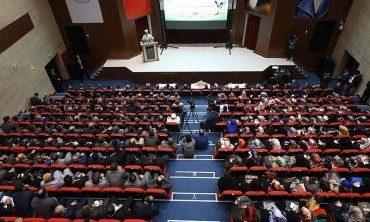 Diyanet İşleri Başkanı Görmez, Tekirdağ'da, din görevlileriyle bir araya geldi
