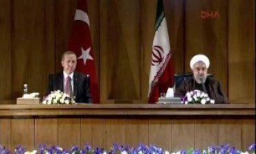 Cumhurbaşkanı Erdoğan'dan İran'da mezhep çatışmaları bitsin mesajı