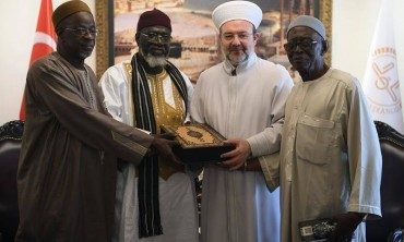 Gambiya Müslümanlarından Diyanet'e ziyaret