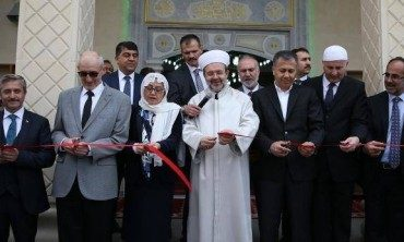 Gaziantep Şeyh Şamil Camii dualarla ibadete açıldı