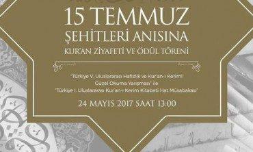 62 ülkeden 120 yarışmacı Kur'an'ı güzel okumak için yarışacak
