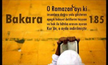 Kur'an Ayı Ramazan