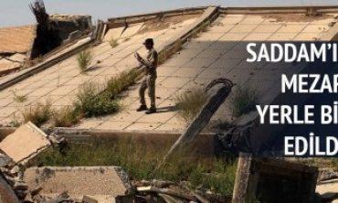 Saddam'ın Tikrit'teki türbesi yıkıldı