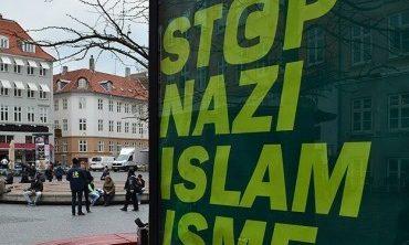 Danimarka'da İslam karşıtı afiş tepki topladı