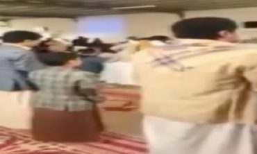 Yemen'deki cami saldırısı kamerada